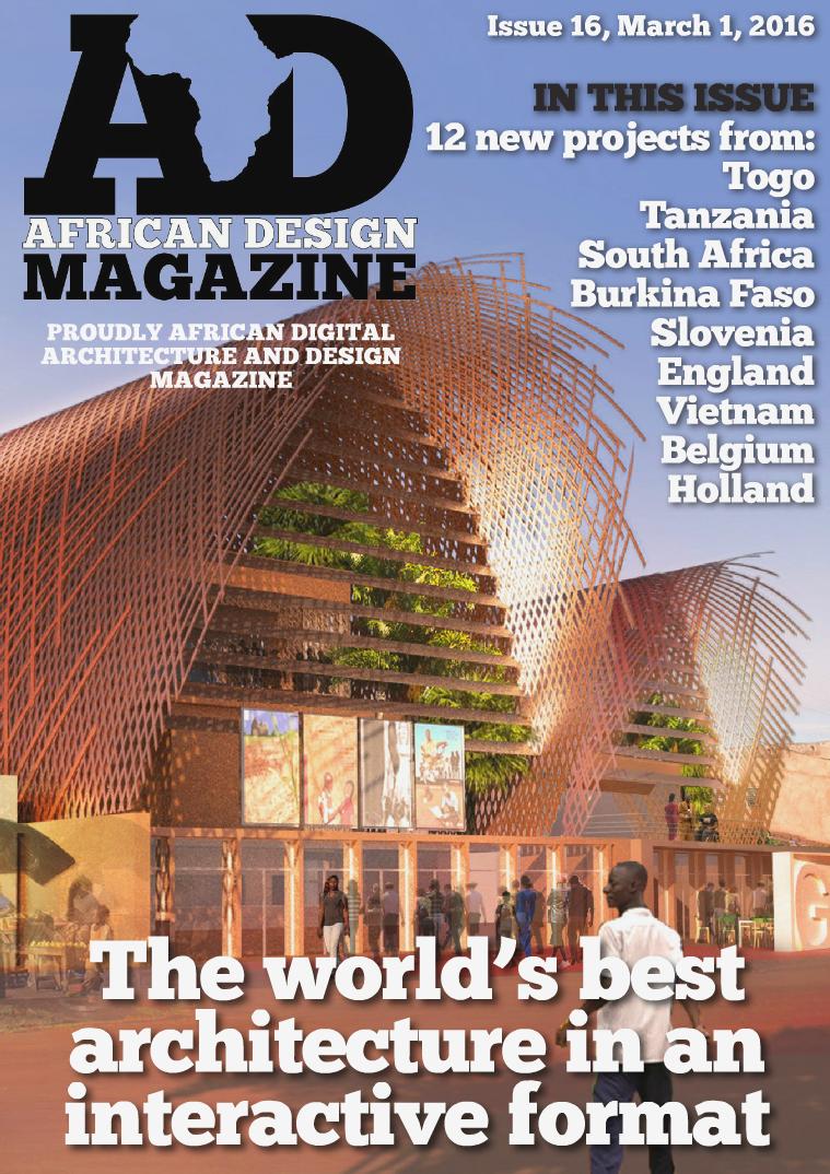 African Design Magazine March 2016
