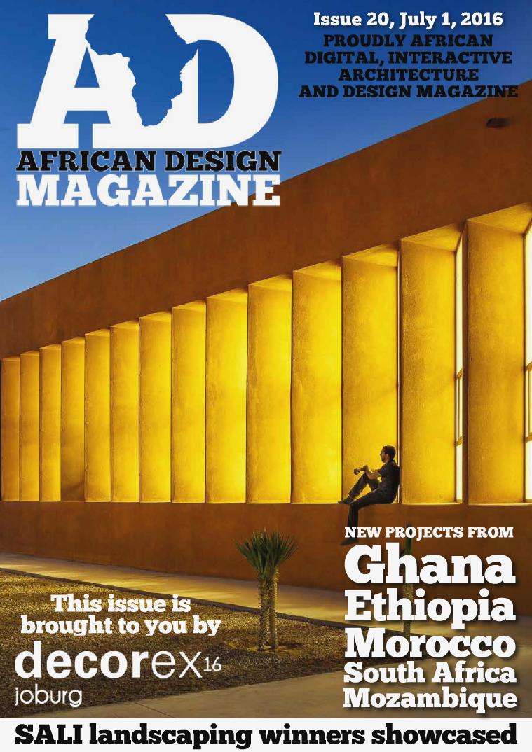 African Design Magazine July 2016