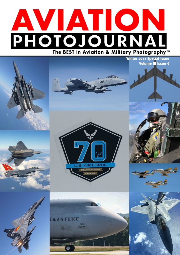 USAF 70th ANNIVERSARY - SPECIAL ISSUE
