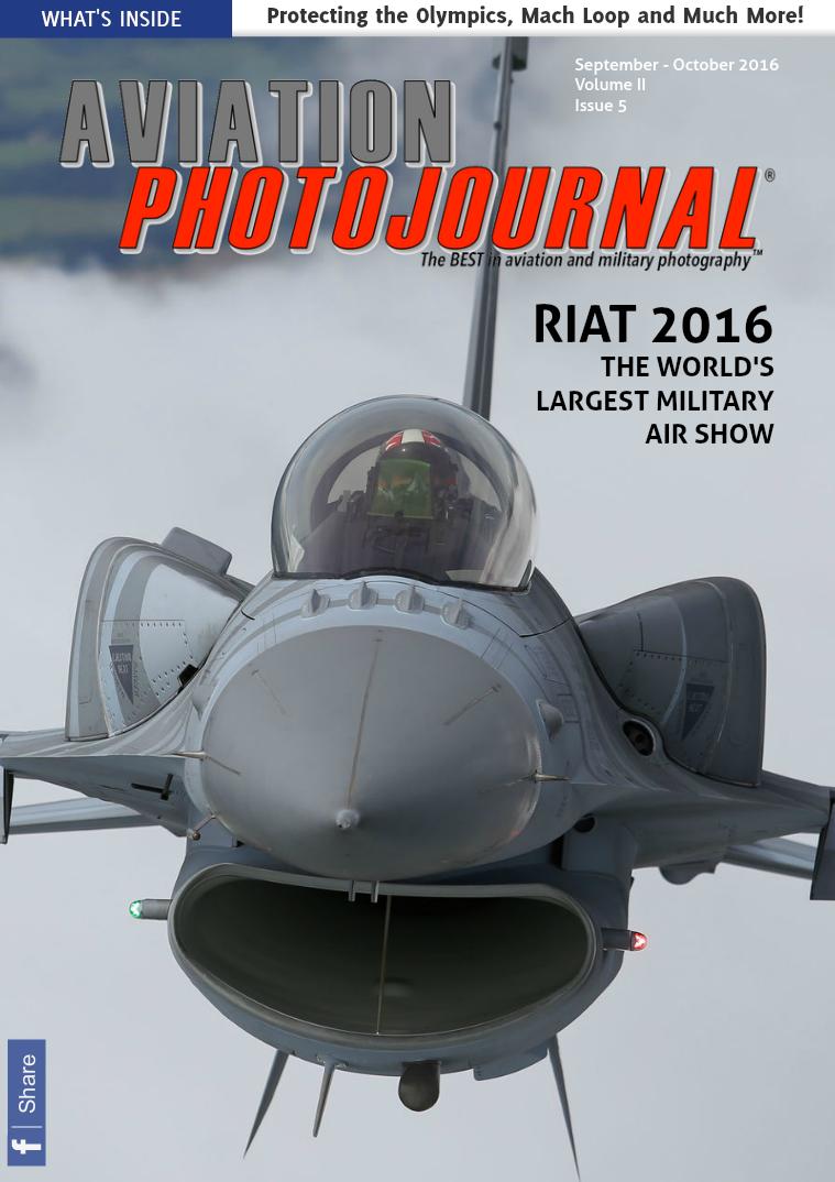 Aviation Photojournal September - October 2016