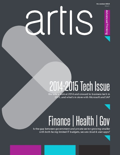 Artis Advanced Thinking Magazine, Issue 1. Nov 14 Issue 1.