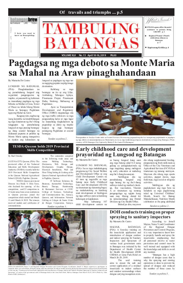 April 10-16, 2019 Issue