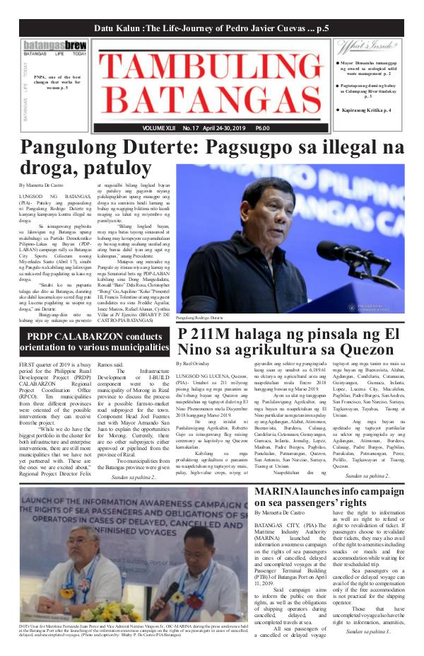 April 23-30, 2019 Issue