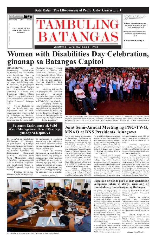 May 01-07, 2019 Issue