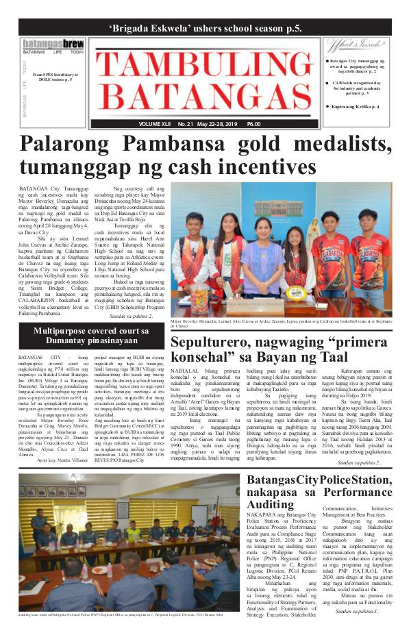 May 22-28, 2019 Issue