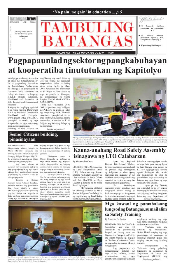 May 29-June 04, 2019 Issue