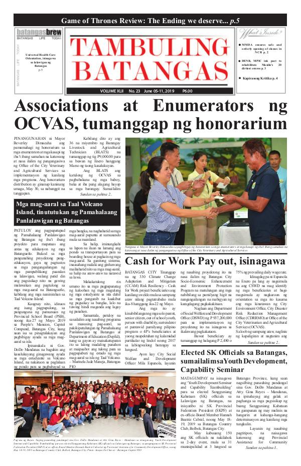 June 05-11, 2019 Issue