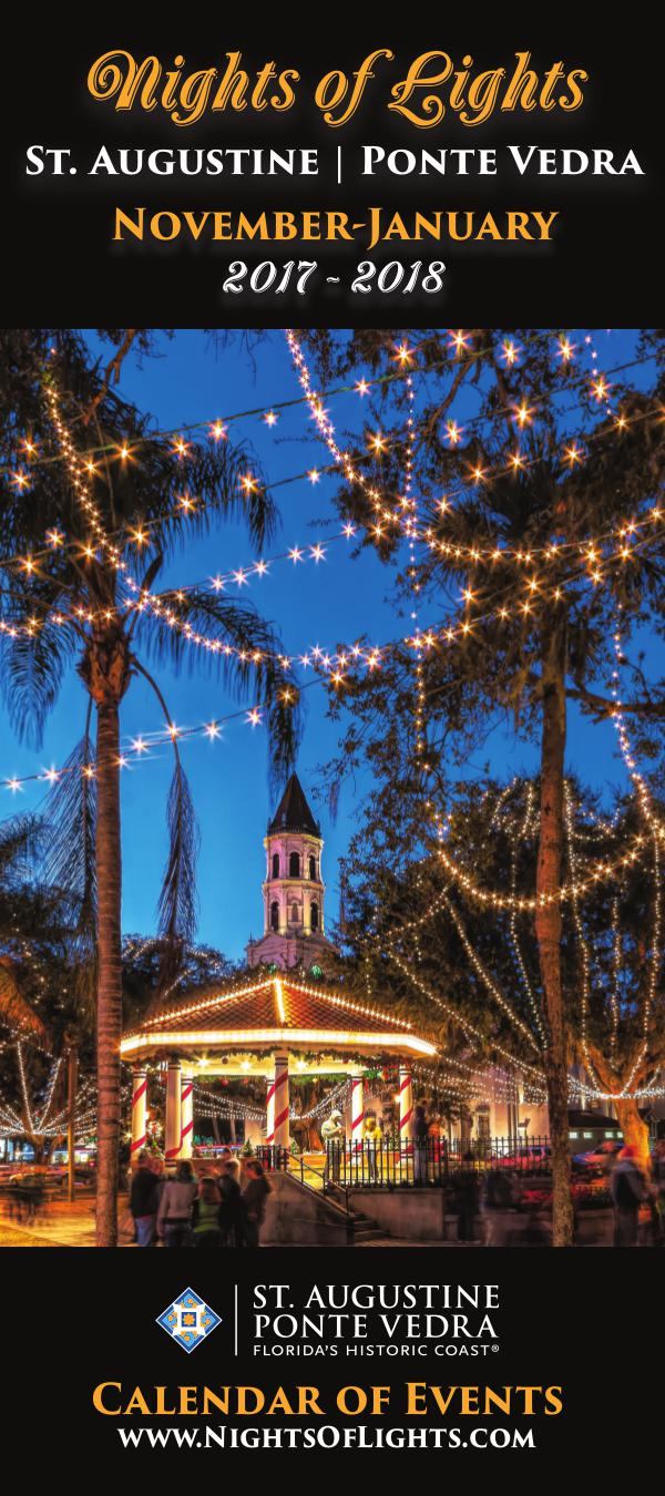 Florida's Historic Coast Calendar of Events Nights of Lights Nov 2017-Jan 2018