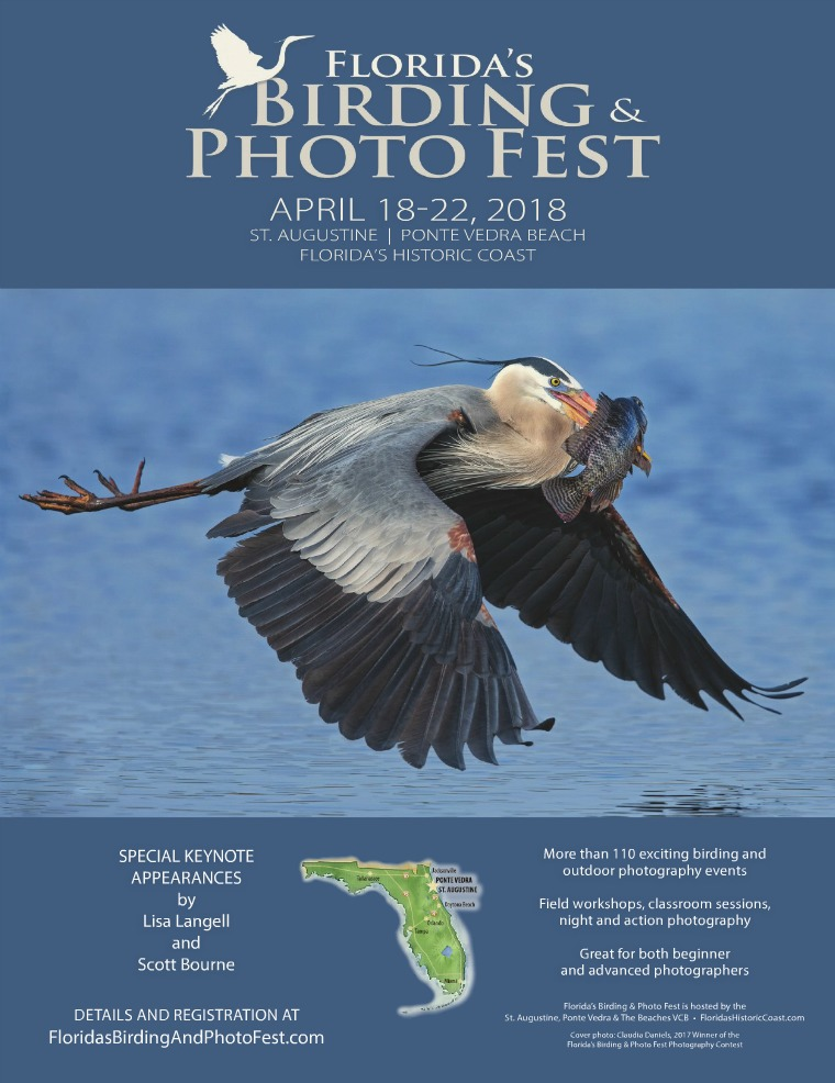 Florida's Birding & Photo Fest official guide 2018