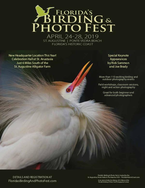 Florida's Birding & Photo Fest official guide 2019