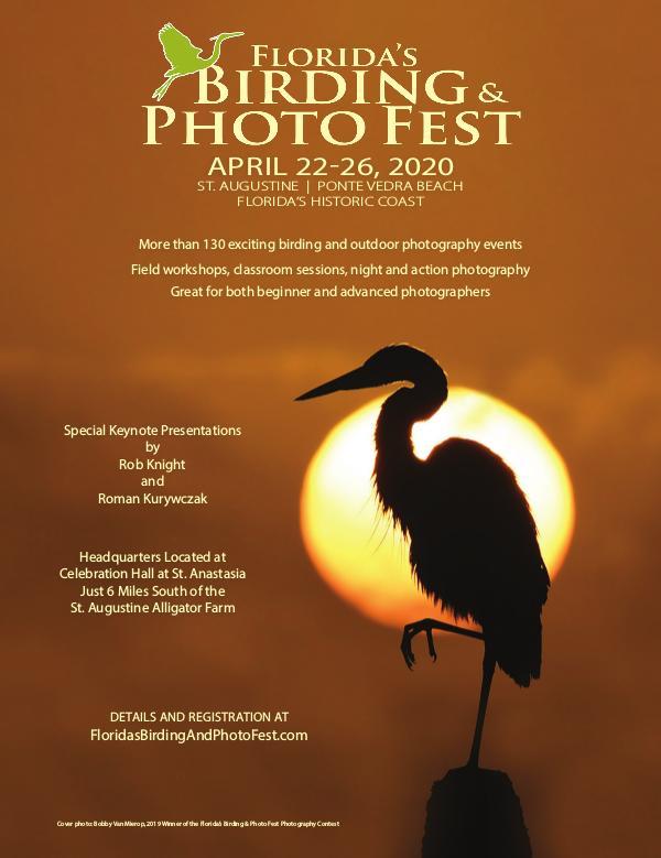 Florida's Birding & Photo Fest official guide 2020