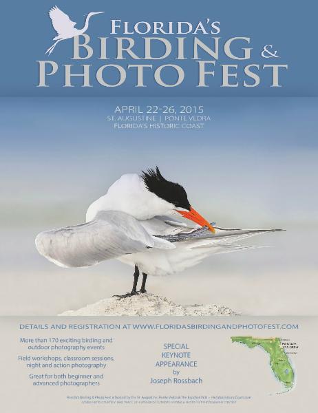 Florida's Birding & Photo Fest official guide 2015