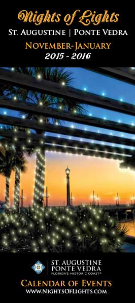 Florida's Historic Coast Calendar of Events Nights of Lights Nov 2015-Jan 2016