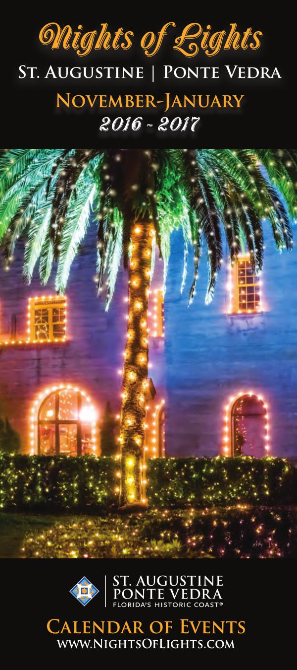 Florida's Historic Coast Calendar of Events Nights of Lights Nov 2016-Jan 2017