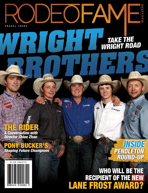 Rodeo Fame Fall Issue 2018