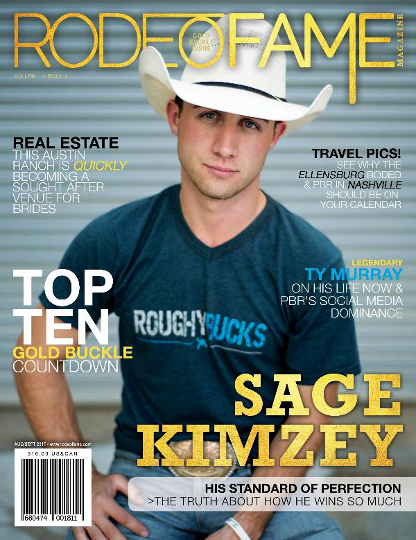 Rodeo Fame Summer Issue 2017 - Gold Buckle Issue