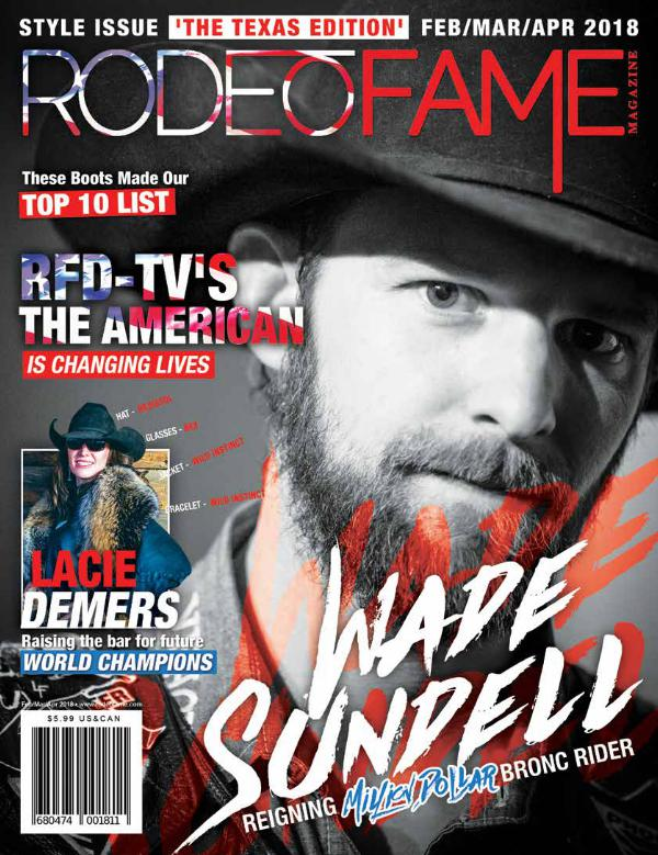 Rodeo Fame Spring Issue 2018