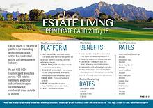 Estate Living Rate Card 2017/2018