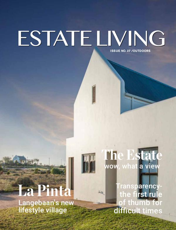 Estate Living Issue 27 March