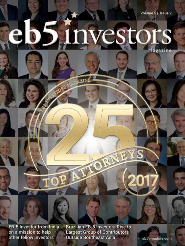 EB5 Investors Magazine Volume 5, Issue 2