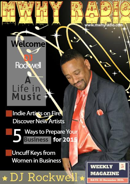 MWHY Radio Magazine Live December 21st 2014