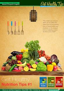 Get Healthy Tips Newsletter