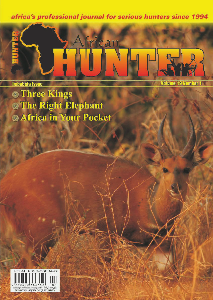 The African Hunter Magazine Volume 19 # 1