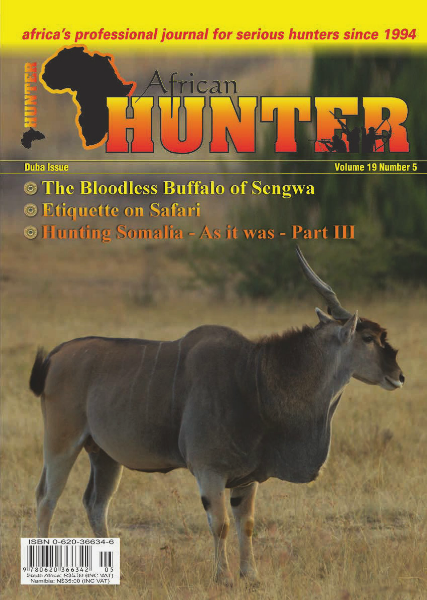 The African Hunter Magazine Volume 19 # 5