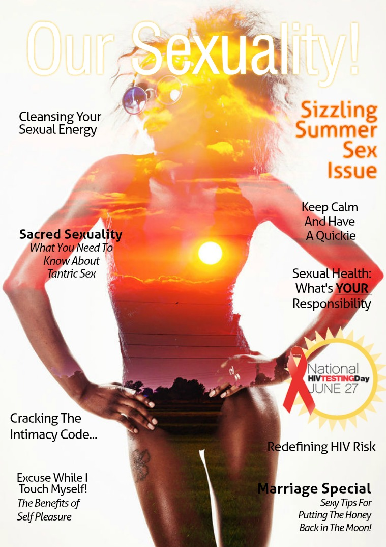 Our Sexuality! Magazine Sizzling Summer Issue 2018