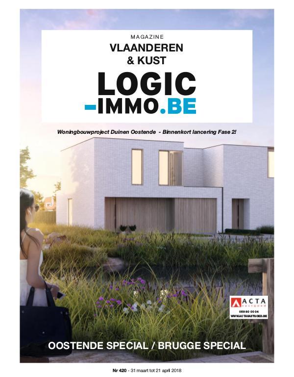 Magazine Logic-Immo : Oost- & West-Vlaanderen, Kust 420