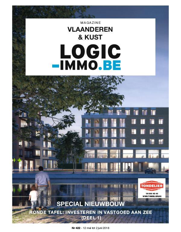 Magazine Logic-Immo : Oost- & West-Vlaanderen, Kust 422