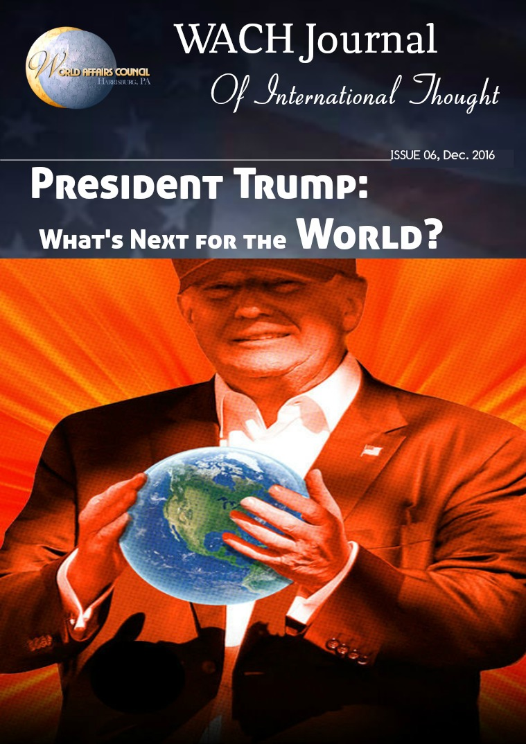 WACH Journal of International Thought The Trump Election