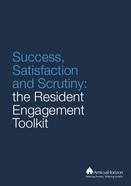 Resident Involvement Toolkit Issue 1