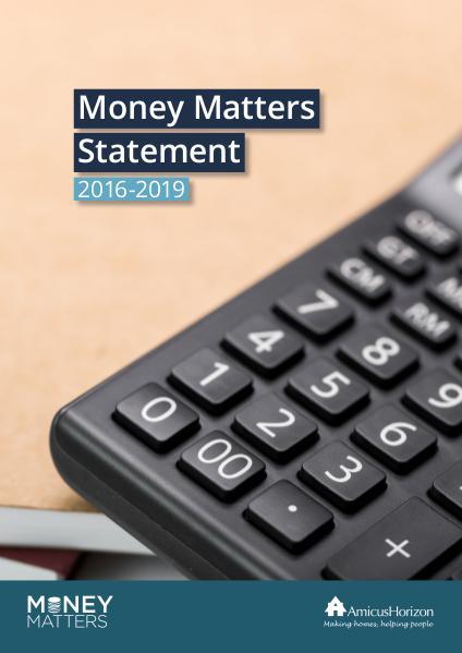Money Matters Statement 2016-2019 first edition