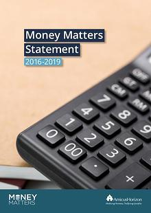 Money Matters Statement 2016-2019