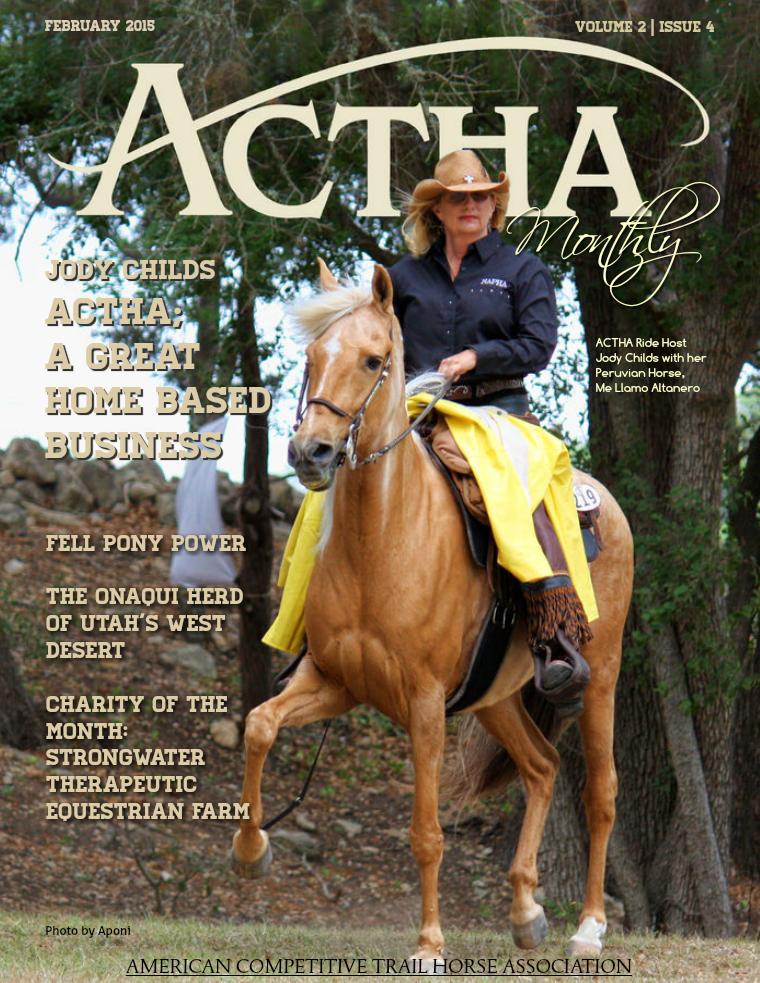 ACTHA Monthly February 2015
