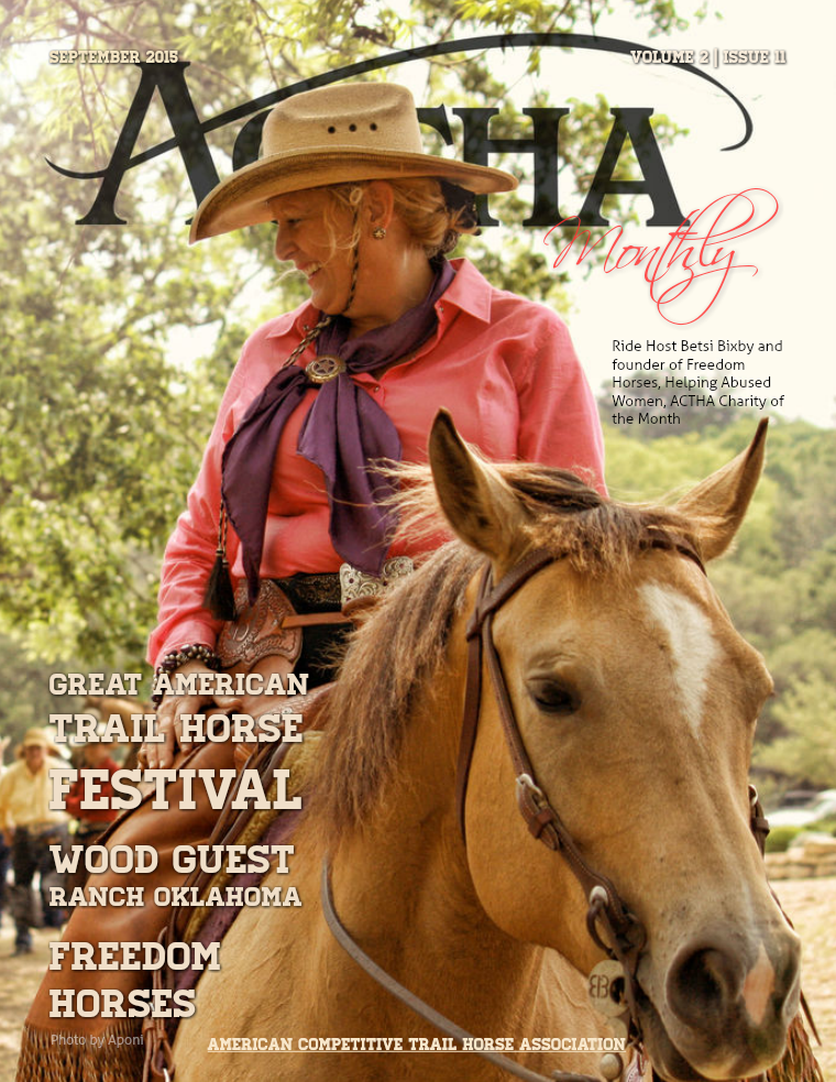 ACTHA Monthly September 2015