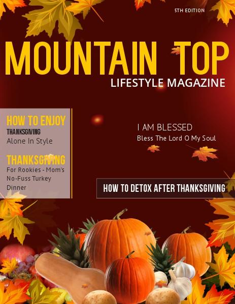 MOUNTAIN TOP LIFESTYLE MAGAZINE 5th Edition