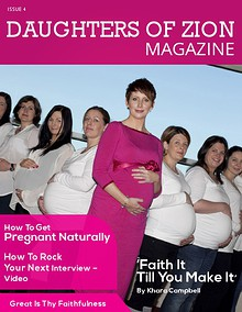 DAUGHTERS OF ZION MAGAZINE