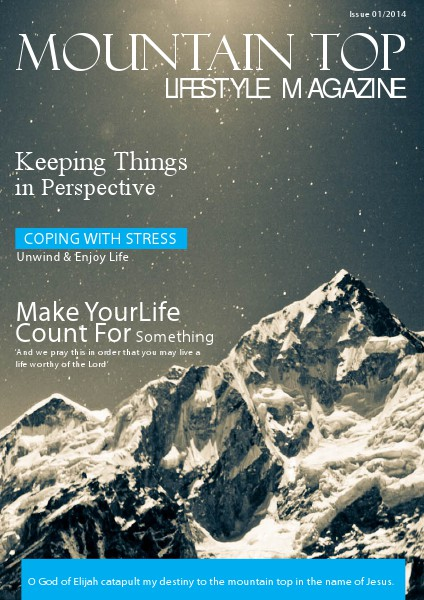 MOUNTAIN TOP LIFESTYLE MAGAZINE 1ST EDITION