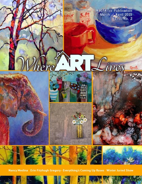 Where ART Lives Magazine Volume 1 Number 2