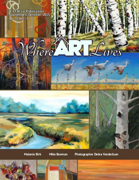 Where ART Lives Magazine Volume 1 Number 5