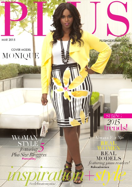 PLUS MODEL MAGAZINE March 2015 Issue