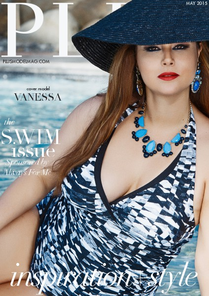 PLUS MODEL MAGAZINE May 2015 Swim Issue