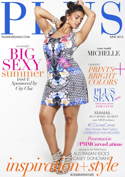 PLUS MODEL MAGAZINE June 2015 Big Sexy Summer Issue