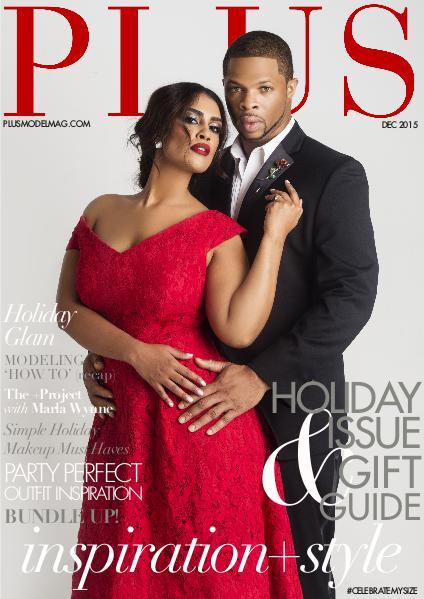 PLUS MODEL MAGAZINE December 2015 Holiday issue
