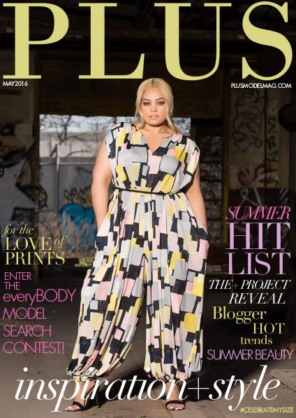 PLUS MODEL MAGAZINE May 2016 Issue