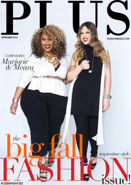 PLUS MODEL MAGAZINE BIG Fall fashion Issue