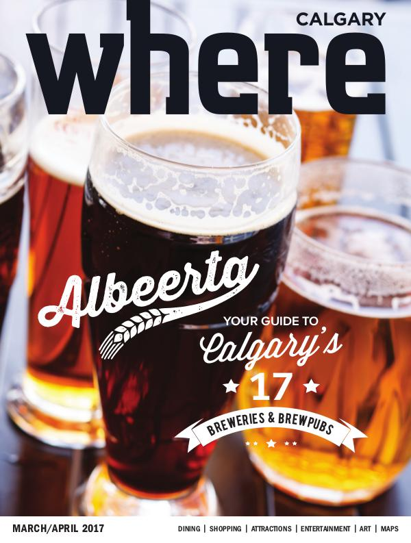 Where Calgary Magazine March/April 2017