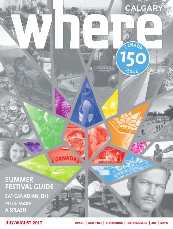 Where Calgary Magazine Where_JA17
